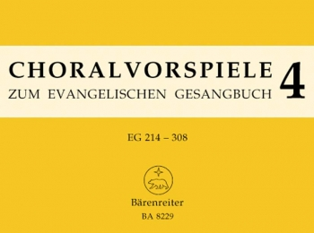 Chorale Preludes for the Luthern Hymnal, Vol.4 : Organ: (Barenreiter)