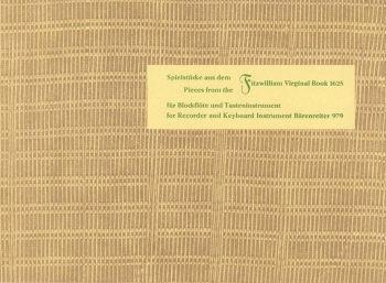 Playing Pieces from the Fitzwilliam Virginal Book. : Descant Recorder & Piano: (Barenreiter)