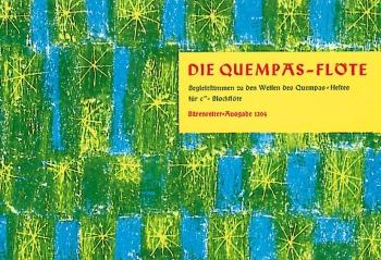 Quempas Flute.  Accompanying parts to melodies of the Quempas Book. : 2 Descant Recorders: (Barenrei