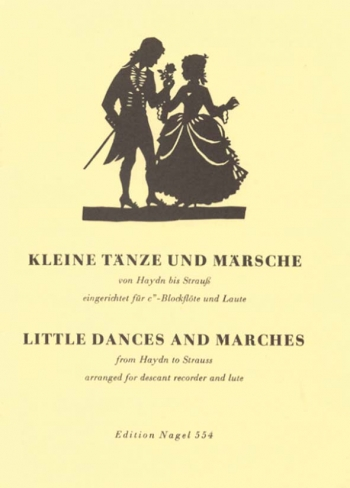 Little Dances and Marches from Haydn to Strauss. : Treble Recorder & Piano: (Barenreiter)