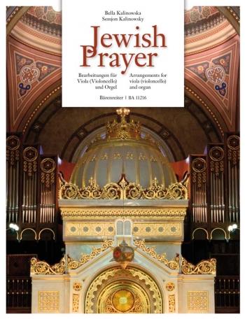 Jewish Prayer. : Viola: (Barenreiter)
