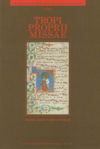Repertorium troporum bohemiae medii aevi, Part 1: Tropi proprii missae (L).: Voice: (Barenreiter)
