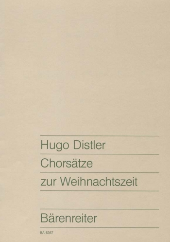 Choral Setting for Christmas Time (G). : Choral: (Barenreiter)