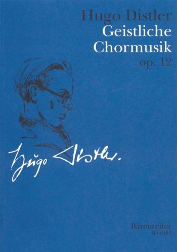 Geistliche Chormusik, 9 Motets Op.12 (complete works) (G). : Choral: (Barenreiter)