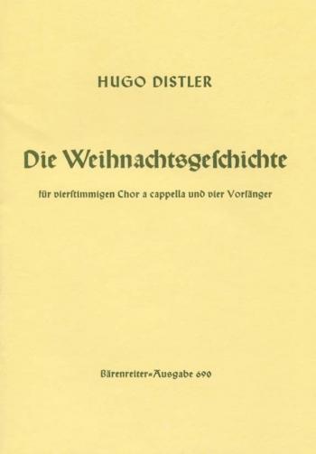 Christmas Story, Op.10 (G). : Choral: (Barenreiter)