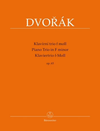 Piano Trio No.3 in F minor, Op.65. : Mixed Ensemble: (Barenreiter)