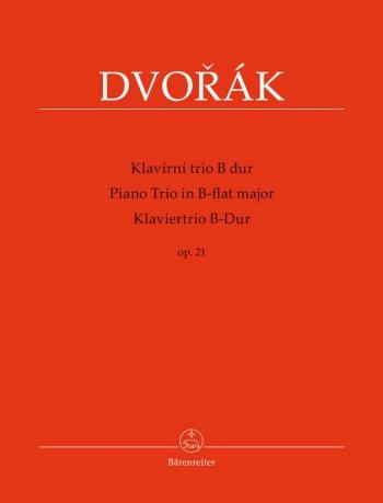 Piano Trio No.1 in B-flat, Op.21 (Urtext). : Mixed Ensemble: (Barenreiter)