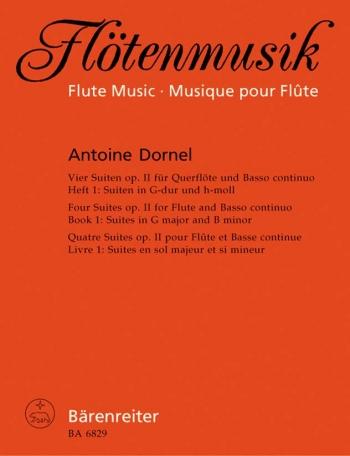 Suites (4), Op.2, Book 1: Suites in G maj & B minor. : Flute & Piano: (Barenreiter)