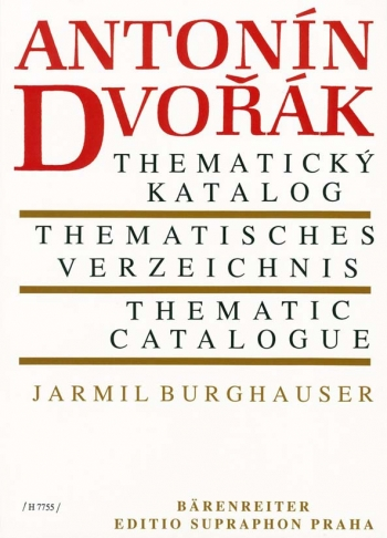 Thematic Catalogue (Cz-G-E). : Book: (Barenreiter)