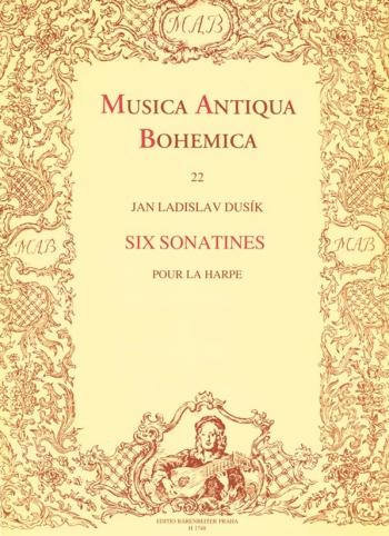 Sonatinas (6). : Harp: (Barenreiter)