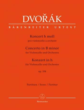 Concerto for Violoncello in B minor, Op.104 (Urtext). : Large Score Paperback: (Barenreiter)
