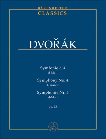 Symphony No. 4 in D minor, Op.13. : Study score: (Barenreiter)