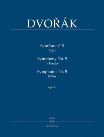 Symphony No. 5 in F, Op.76. : Study score: (Barenreiter)