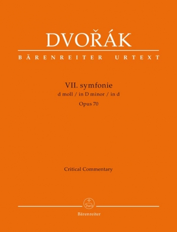 Symphony No. 7 in D minor, Op.70 (Urtext). : : (Barenreiter)