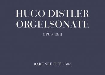 Organ Sonata (Trio), Op.18/ 2. : Organ: (Barenreiter)