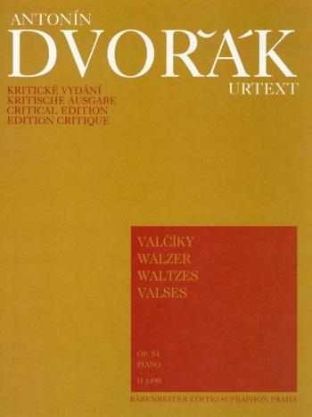 Waltzes, Op.54. : Piano: (Barenreiter)