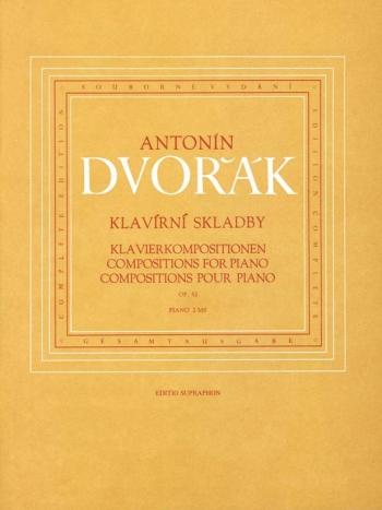 Piano Compositions, Op.52. : Piano: (Barenreiter)