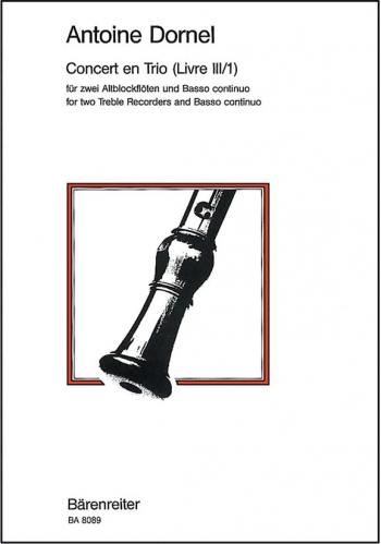 Concert en Trio. : 2 Treble Recorders: (Barenreiter)