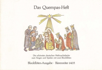 Christmas Songs for 2 Recorders (for the Quempas Book songs). : Recorder Ensemble: (Barenreiter)