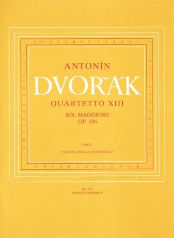 String Quartet No.13 in G, Op.106. : String Quartet: (Barenreiter)