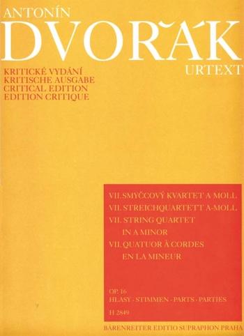 String Quartet No. 7 in A minor, Op.16. : String Quartet: (Barenreiter)