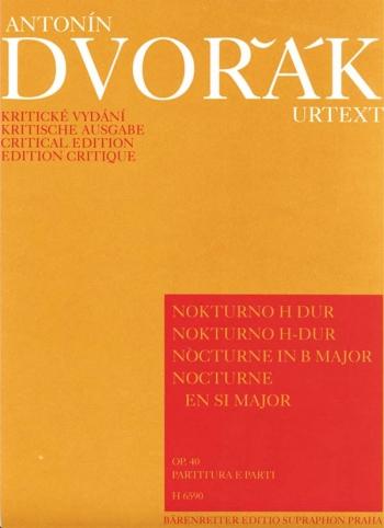 Nocturne in B, Op.40. : String Quintets: (Barenreiter)