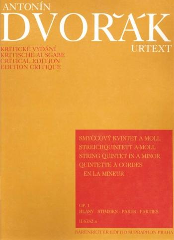 String Quintet in A minor, Op. 1. : String Quintets: (Barenreiter)