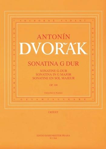 Sonatina G  Major Op.100: Violin & Piano (Barenreiter)