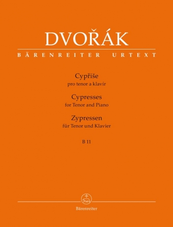 Cypresses for Tenor Voice and Piano (Urtext). : Voice: (Barenreiter)