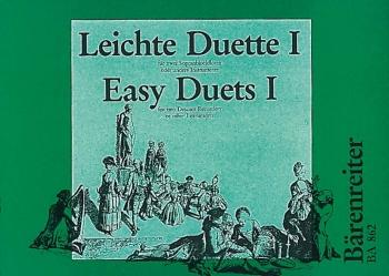 Easy Duets Vol.1. : 2 Descant Recorders: (Barenreiter)