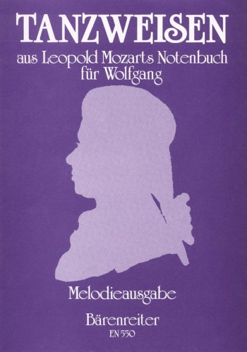 Dance Melodies from Leopold Mozart's Notebook for Wolfgang. : 2 Descant Recorders: (Barenreiter)