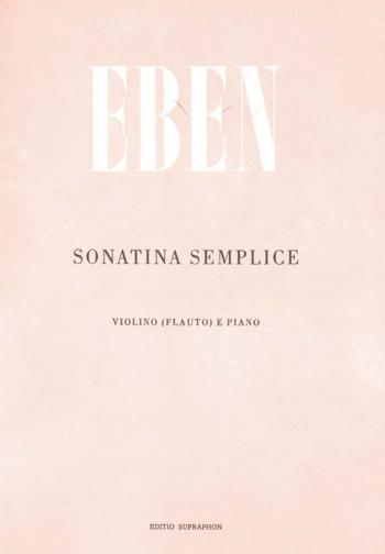 Sonatina Semplice. : Flute & Piano: (Barenreiter)