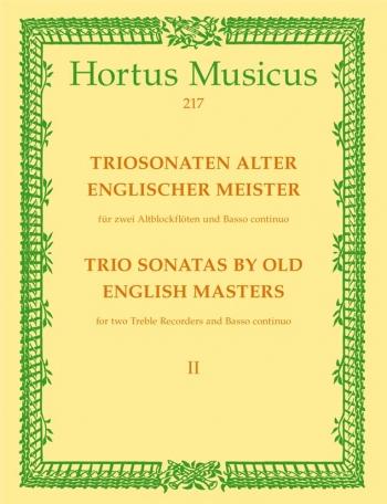 Trio Sonatas by Old English Masters, Bk.2. (D Purcell, Sonata in F maj, R Valentine, Sonata in C min