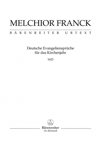 Texts for the Church Year (68 Motets) (G), complete. : Choral: (Barenreiter)