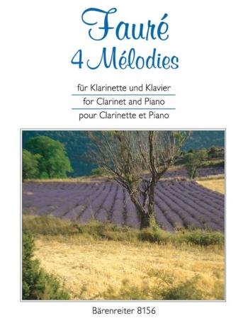 Melodies (4). : Clarinet & Piano: (Barenreiter)