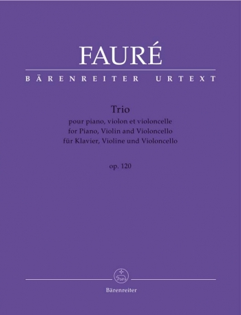 Piano Trio, Op.120 (Urtext). : Mixed Ensemble: (Barenreiter)