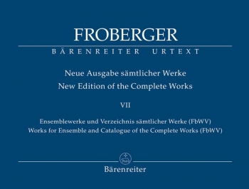 Works for Ensemble and & Catalogue of the Complete Works (FbWV) (Urtext).: Mixed Ensemble: (Barenrei