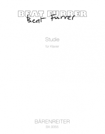 Studie (2011). : Piano: (Barenreiter)