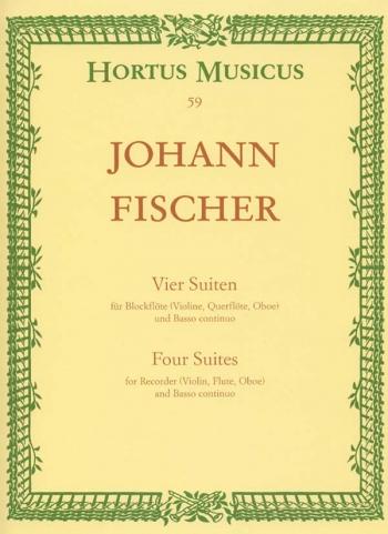 Four Suites. : Treble Recorder & Piano: (Barenreiter)
