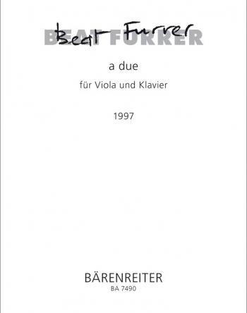 a due (1997). : Viola: (Barenreiter)