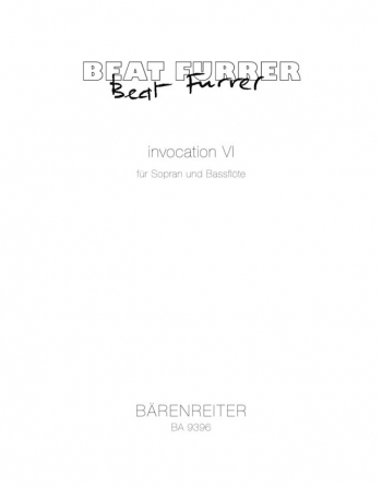 invocation VI (2002/03) (Sp). : Voice: (Barenreiter)