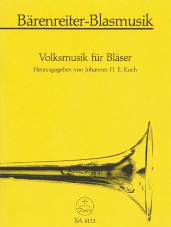 Folk Music for Brass. : Brass Ensemble: (Barenreiter)