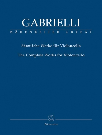 Complete Works for Violoncello (Urtext). (including critical report in English and German).: Cello: