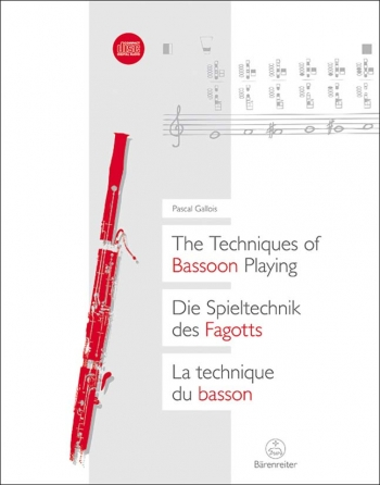 Techniques of Bassoon Playing, The (G-E-F). : Book: (Barenreiter)