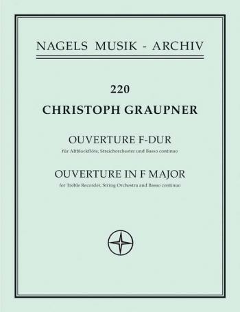 Overture in F. : Large Score Paperback: (Barenreiter)