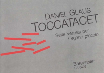 Toccatacet. : Organ: (Barenreiter)