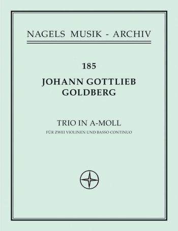 Trio in A minor (Sonata No.4). : 2 Violins & Piano: (Barenreiter)