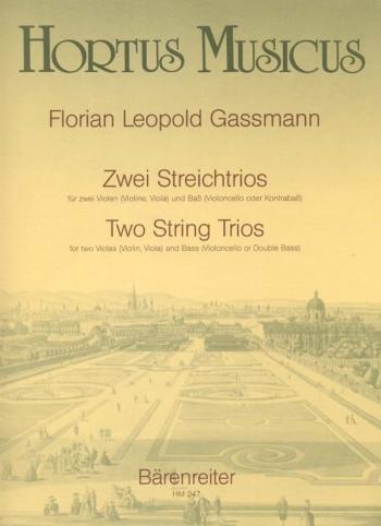 String Trios (2) (E-flat maj, B-flat maj). : String Trio: (Barenreiter)