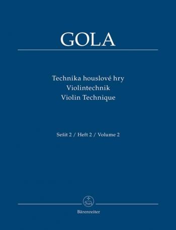 Violin Technique Vol.2 (Cz-G-E). : Violin: (Barenreiter)