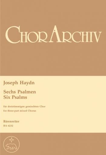 Psalms (6) (Hob.XXIII: Anhang-Nachtrag) (E-G). : Choral: (Barenreiter)